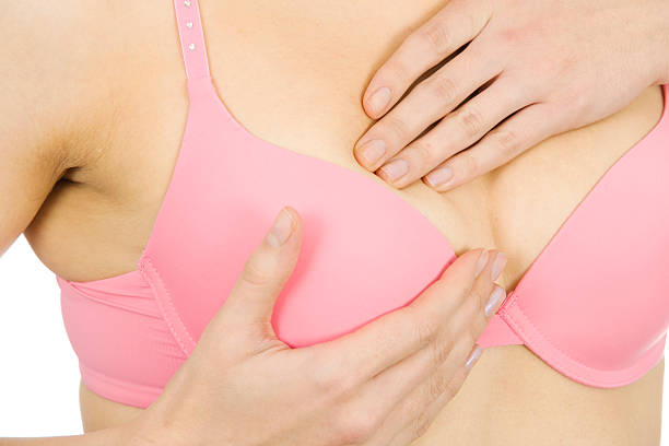How to do a breast self-exam: The five steps